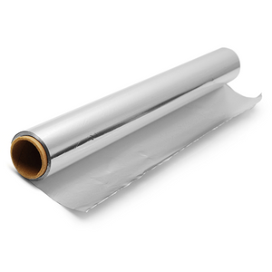 "Aluminium Foils - Aluminium Foil Roll (W/Steel Cutter Box Dispenser Design) Commercial Grade - 18""x500' - Packed 1 Per Dispenser Box"
