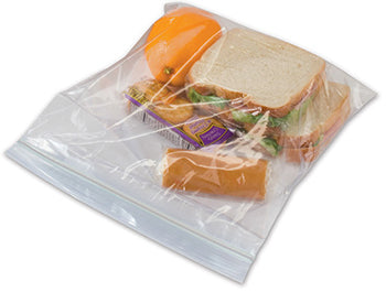 6x8 3mil Sandwich Ziploc Bag - 1000cs
