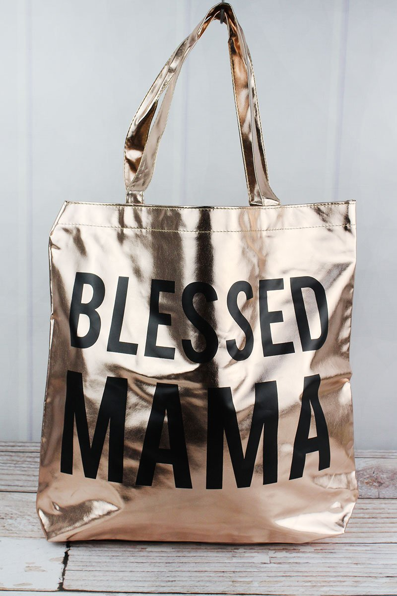 Blessed Mama Tote