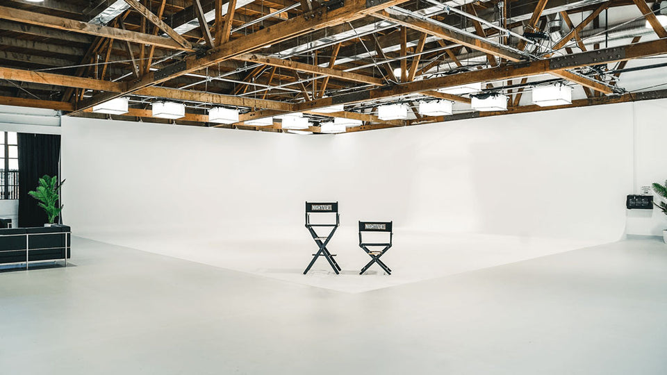 Nightview Studios with SpaceBox LED Spacelights from the LA Firm