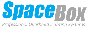 SpaceBox Lighting Systems overhead LED studio spacelight fixtures