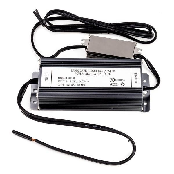 Environmental Lights 12 Volt DC Landscape Power Supply (60 Watts), 9-15 VAC input from OnSetLighting.com