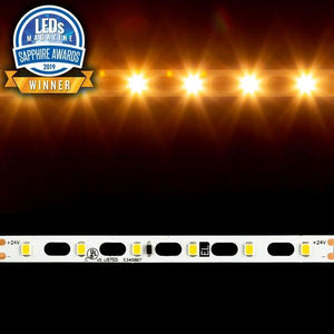 Environmental Lights HyperFlex 2835 LED Strip Light - 2,700K - 60/m - CurrentControl - 10m Reel from OnSetLighting.com