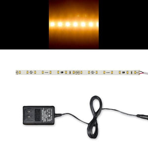 Environmental Lights 2700K 2835 LED Strip Light, 64/m, 10mm wide, Sample Kit from OnSetLighting.com