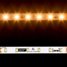 Load image into Gallery viewer, Environmental Lights MaxRun Warm White 2835 CurrentControl LED Strip Light, 60/m, 10mm wide, by the 20m Reel from OnSetLighting.com