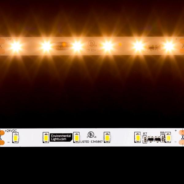 Environmental Lights MaxRun Warm White 2835 CurrentControl LED Strip Light, 60/m, 10mm wide, by the 20m Reel from OnSetLighting.com