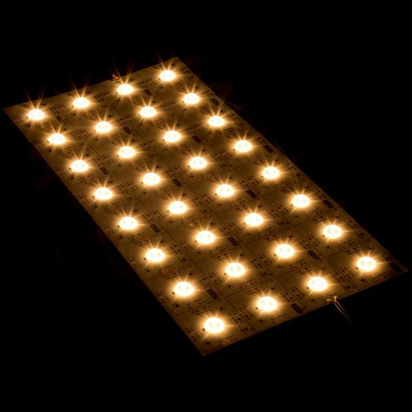 Environmental Lights Performance 160 Degree Modular LED Light Sheet - 3,000K - 8 x 4 LEDs from OnSetLighting.com