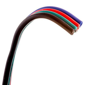 Environmental Lights 4 Conductor wire - 22 AWG cable, by the foot from OnSetLighting.com
