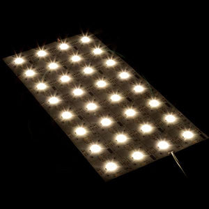 Environmental Lights Performance 160 Degree Modular LED Light Sheet - 4,000K - 8 x 4 LEDs from OnSetLighting.com