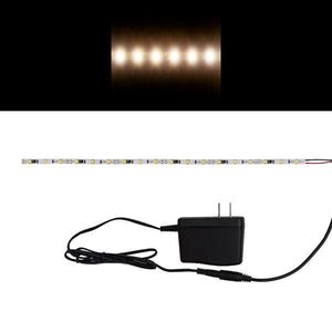 Environmental Lights Neutral White 2835 LED Strip Light, 60/m, 5mm wide, Sample Kit from OnSetLighting.com