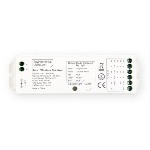 Environmental Lights 5-in-1 Wireless Receiver from OnSetLighting.com