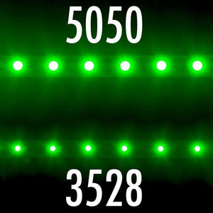 Environmental Lights Green 5050 LED Strip Light, 60/m, 10mm wide, by the 5m Reel from OnSetLighting.com