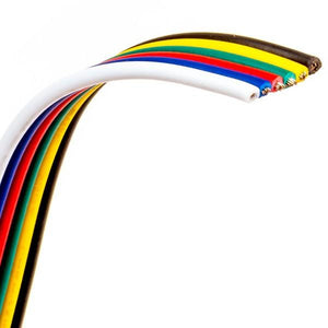 Environmental Lights 6 Conductor wire - 22 AWG cable, by the 200 m reel from OnSetLighting.com