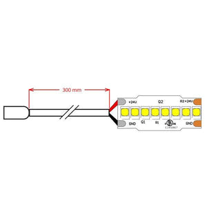 Environmental Lights LumenMax 2835 LED Strip Light - 3,000K - 240/m - CurrentControl - 2m Reel from OnSetLighting.com