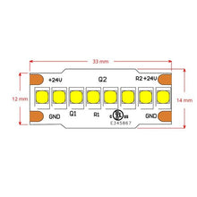 Load image into Gallery viewer, Environmental Lights LumenMax 2835 LED Strip Light - 3,000K - 240/m - CurrentControl - 2m Reel from OnSetLighting.com
