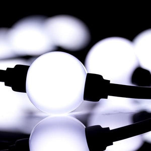 Environmental Lights Daylight White PixelControl LED Spheres, 1 meter from OnSetLighting.com