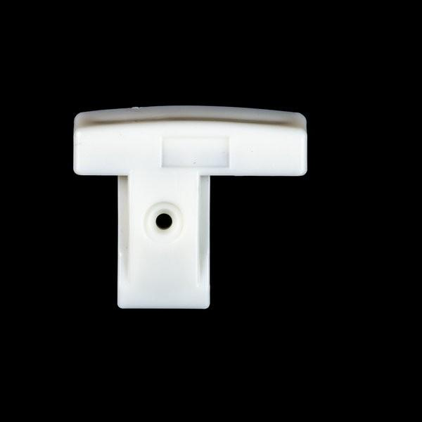 Environmental Lights PowerTrack End Cap A - White from OnSetLighting.com