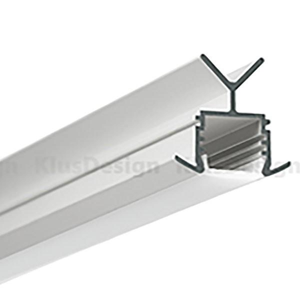 Environmental Lights CS166 LED Channel System Including Base Klus-B6144ANODA-2m and Top Klus-17031-2m from OnSetLighting.com