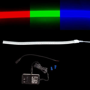 Environmental Lights EcoFlex 4-in-1 LED Neon - RGB + 6,500K - Sample Kit from OnSetLighting.com