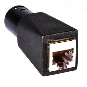 Environmental Lights 3-pin Male XLR to RJ45 Adapter from OnSetLighting.com