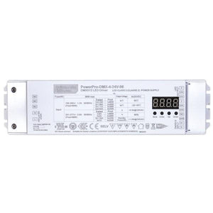 Environmental Lights PowerPro 4 Channel DMX Digital Decoder - 24V - 80W from OnSetLighting.com