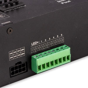 Environmental Lights PowerPro 6 Channel DMX Decoder - 12V - 190W from OnSetLighting.com
