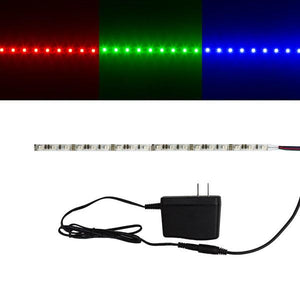 Environmental Lights UltraSlim RGB 2835 LED Strip Light - 84/m - Sample Kit from OnSetLighting.com