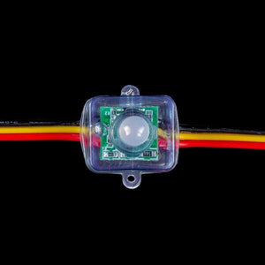 Environmental Lights RGB PixelControl Bullet - Square Base - 12V - String of 50 from OnSetLighting.com