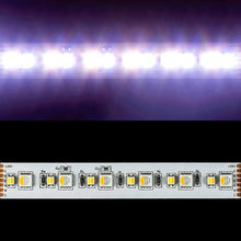 Load image into Gallery viewer, Environmental Lights 6-in-1 ColorPlus 5050 LED Strip Light – RGB + Amber + Tunable White - 60/m - 5m Reel from OnSetLighting.com