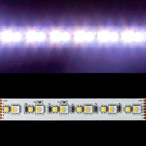 Environmental Lights 6-in-1 ColorPlus 5050 LED Strip Light – RGB + Amber + Tunable White - 60/m - 5m Reel from OnSetLighting.com