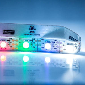 Environmental Lights RGBDW 4-in-1 PixelControl LED Strip Light, 60/m, 10mm wide, by the 2m Reel from OnSetLighting.com