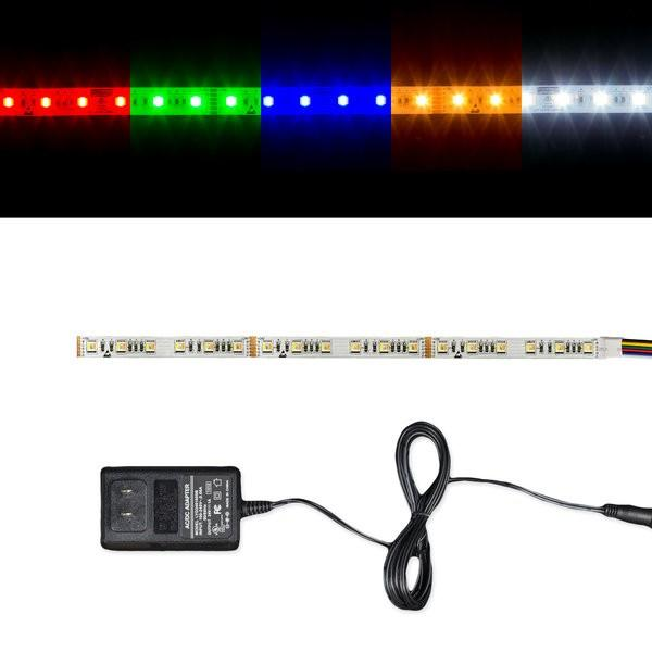 Environmental Lights 5-in-1 5050 LED Strip Light with RGB + Tunable White - 60/m - Sample Kit from OnSetLighting.com