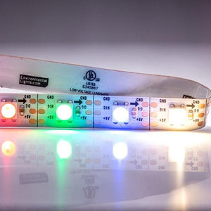 Environmental Lights RGBWW 4-in-1 PixelControl LED Strip Light, 60/m, 10mm wide, by the 2m Reel from OnSetLighting.com