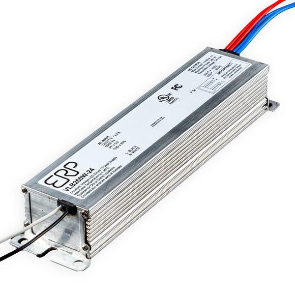 Environmental Lights MicroMax VLB LED Driver - 24VDC - 260W from OnSetLighting.com