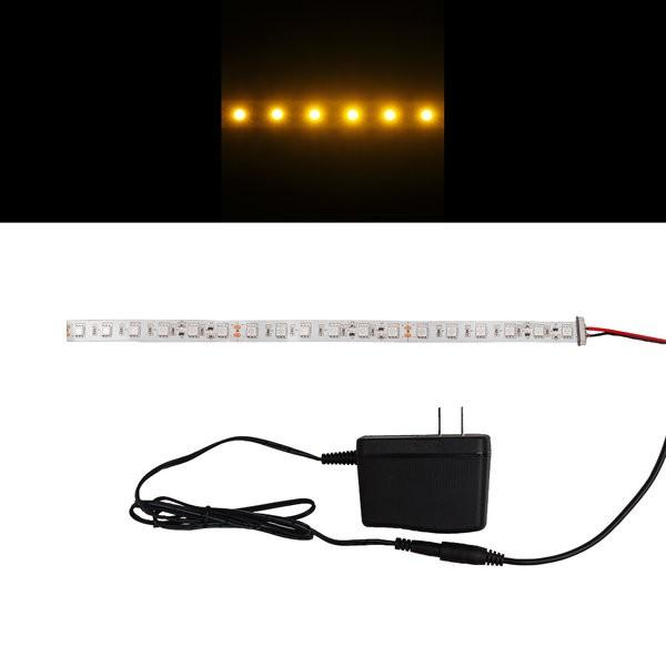 Environmental Lights Amber 5050 Single Row CurrentControl LED Strip Light, 60/m, 12mm wide, Sample Kit from OnSetLighting.com