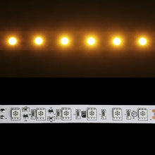 Load image into Gallery viewer, Environmental Lights Amber 5050 Single Row CurrentControl LED Strip Light, 60/m, 12mm wide, Sample Kit from OnSetLighting.com