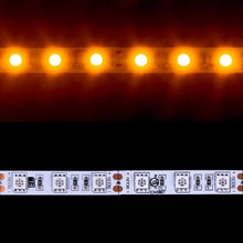 Load image into Gallery viewer, Environmental Lights Amber 5050 LED Strip Light, 60/m, 10mm wide, Sample Kit from OnSetLighting.com