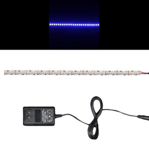 Environmental Lights Blue 3528 Single Row LED Strip Light, 240/m, 10mm wide, Sample Kit from OnSetLighting.com