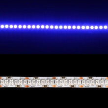 Load image into Gallery viewer, Environmental Lights Blue 3528 Single Row LED Strip Light, 240/m, 10mm wide, Sample Kit from OnSetLighting.com