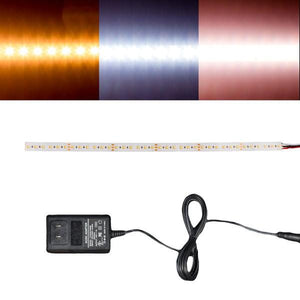 Environmental Lights White Adjustable 2216 TruColor LED Strip Light, 240/m, 10mm wide, Sample Kit from OnSetLighting.com