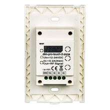 Load image into Gallery viewer, Environmental Lights LED Dimmer Pro Touch Panel - 2 Zones from OnSetLighting.com