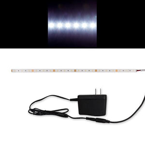 Environmental Lights Daylight White 2216 TruColor LED Strip Light, 60/m, 8mm wide, Sample Kit from OnSetLighting.com
