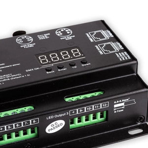 Environmental Lights StudioPro 12 Channel DMX Digital Decoder - 5A per Channel from OnSetLighting.com