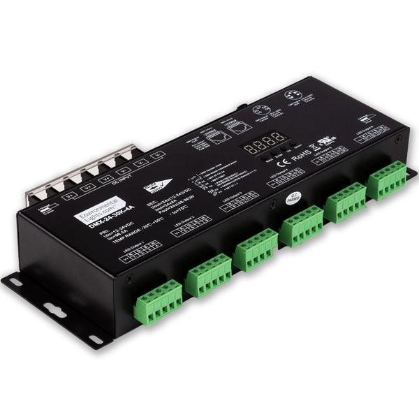 Environmental Lights StudioPro 24 Channel DMX Digital Decoder - 4A per Channel from OnSetLighting.com