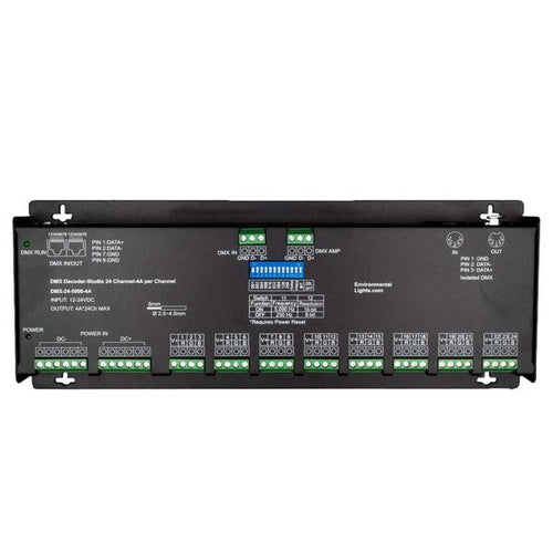 Environmental Lights Studio 24 Channel DMX Decoder - 4A per Channel from OnSetLighting.com