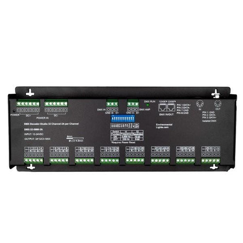 Environmental Lights Studio 32 Channel DMX Decoder - 3A per Channel from OnSetLighting.com