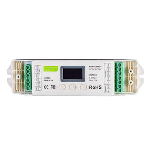 Environmental Lights Standalone 4 Channel DMX Decoder - 5A per Channel from OnSetLighting.com