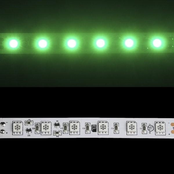 Environmental Lights Green 5050 Single Row CurrentControl LED Strip Light, 60/m, 12mm wide, by the 6m Reel from OnSetLighting.com