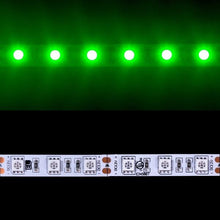 Load image into Gallery viewer, Environmental Lights Green 5050 LED Strip Light, 60/m, 10mm wide, Sample Kit from OnSetLighting.com