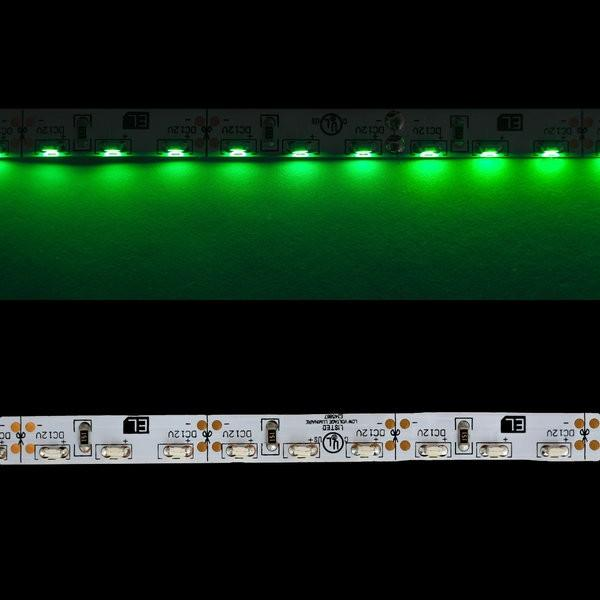 Environmental Lights Green 3014 Side View LED Strip Light, 96/m, 8mm wide, by the 5m Reel from OnSetLighting.com